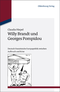 Willy Brandt und Georges Pompidou