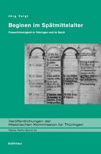Beginen im Spätmittelalter