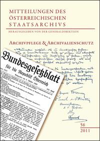 Archivpflege und Archivalienschutz