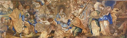 Manufaktur des Jan de Clerck nach P.P. Rubens (?): Antependium mit der