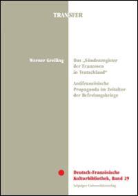 """Das """"Sündenregister der Franzosen in Teutschland"""""""