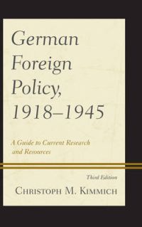 German Foreign Policy, 1918-1945