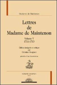 Lettres de Madame de Maintenon