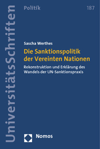 Die Sanktionspolitik der Vereinten Nationen