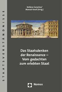 Das Staatsdenken der Renaissance - Vom gedachten zum erlebten Staat