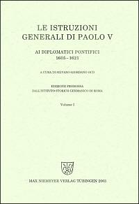 Le istruzioni generali di Paolo V