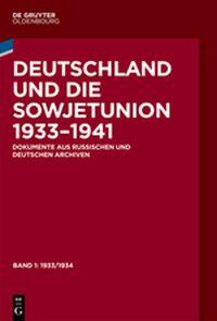 Deutschland und die Sowjetunion 1933-1941