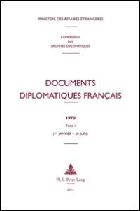 Documents Diplomatiques Français 1970
