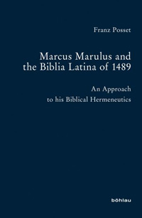 Marcus Marulus and the Biblia Latina of 1489