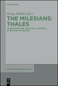 The Milesians: Thales