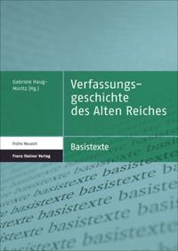 Verfassungsgeschichte des Alten Reiches