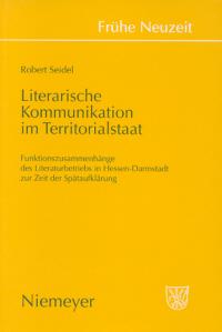 Literarische Kommunikation im Territorialstaat