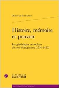 Histoire, mémoire et pouvoir