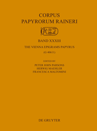 The Vienna Epigrams Papyrus