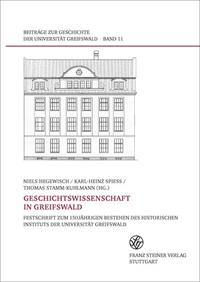 Geschichtswissenschaft in Greifswald