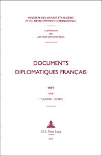 Documents diplomatiques fran�ais 1971