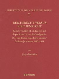 Reichsrecht versus Kirchenrecht