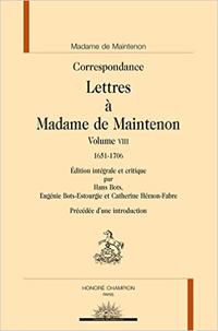 Lettres à Madame de Maintenon