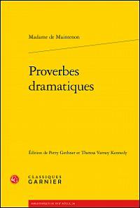 Proverbes dramatiques de Madame de Maintenon