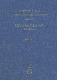Die hippokratische Schrift Praecepta