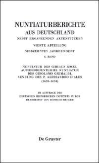 Nuntiaturberichte aus Deutschland nebst erg�nzenden Aktenst�cken