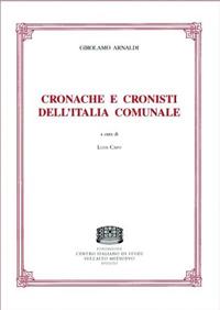 Cronache e cronisti dell'Italia comunale