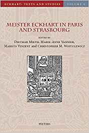 Meister Eckhart in Paris and Strasbourg