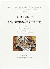 Lo Statuto di San Gimignano del 1255