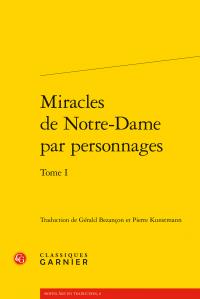 Miracles de Notre-Dame par personnages