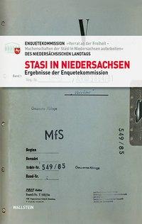 Stasi in Niedersachsen Bd. 1