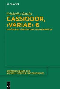 Cassiodor, Variae 6