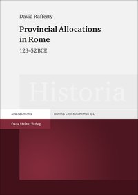 Provincial Allocations in Rome