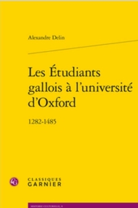 Les Étudiants gallois à l'université d'Oxford