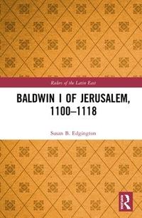 Baldwin I of Jerusalem 1100-1118
