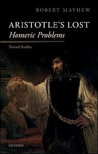 "Aristotle's Lost ""Homeric Problems"""