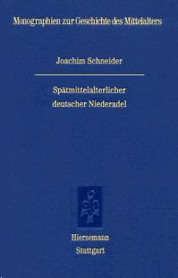 Spätmittelalterlicher deutscher Niederadel