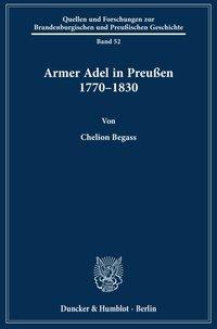 Armer Adel in Preußen 1770-1830