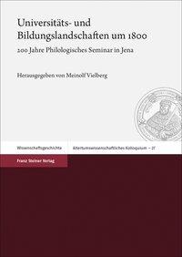 Universitäts- und Bildungslandschaften um 1800