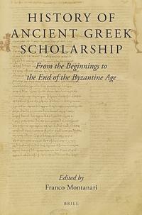 History of Ancient Greek Scholarship