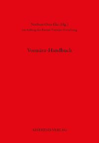 Vormärz-Handbuch