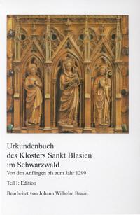 Urkundenbuch des Klosters Sankt Blasien im Schwarzwald