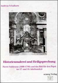 Historienmalerei und Heiligsprechung