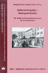 Kulturmetropolen - Metropolenkultur