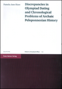 Discrepancies in Olympiad Dating and Chronological Problems of Archaic Peloponnesian History