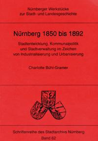 Nürnberg 1850 bis 1892