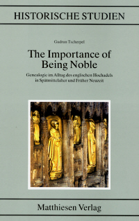 The Importance of Being Noble