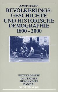 Bevölkerungsgeschichte und Historische Demographie 1800-2000