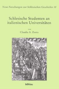 Schlesische Studenten an italienischen Universitäten