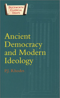 Ancient Democracy and Modern Ideology