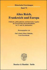 Altes Reich, Frankreich und Europa